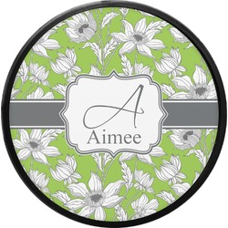 Wild Daisies Round Trailer Hitch Cover (Personalized)