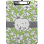 Wild Daisies Clipboard (Letter Size) (Personalized)