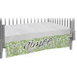 Wild Daisies Crib Skirt (Personalized)