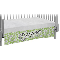 Wild Daisies Crib Skirt (Personalized)