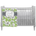 Wild Daisies Crib Comforter / Quilt (Personalized)