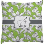 Wild Daisies Decorative Pillow Case (Personalized)