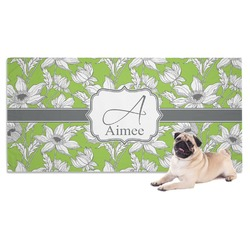 Wild Daisies Dog Towel (Personalized)