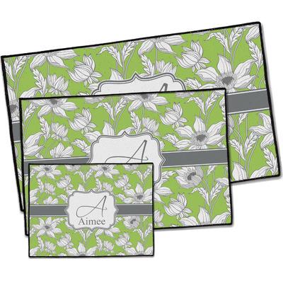 Wild Daisies Door Mat (Personalized)