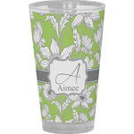 Wild Daisies Drinking / Pint Glass (Personalized)
