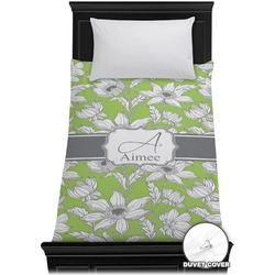 Wild Daisies Duvet Cover - Twin (Personalized)