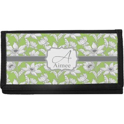 Wild Daisies Canvas Checkbook Cover (Personalized)