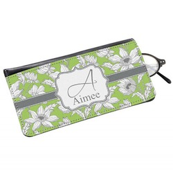 Wild Daisies Genuine Leather Eyeglass Case (Personalized)