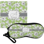 Wild Daisies Eyeglass Case & Cloth (Personalized)