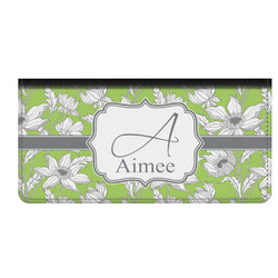 Wild Daisies Genuine Leather Checkbook Cover (Personalized)