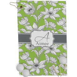 Wild Daisies Golf Towel - Full Print (Personalized)