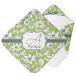 Wild Daisies Hooded Baby Towel (Personalized)
