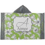 Wild Daisies Kids Hooded Towel (Personalized)