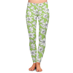 Wild Daisies Ladies Leggings - Large (Personalized)