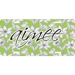 Wild Daisies Front License Plate (Personalized)