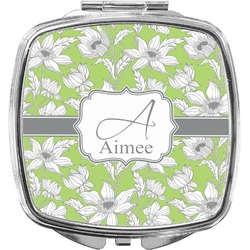 Wild Daisies Compact Makeup Mirror (Personalized)