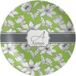 Wild Daisies Melamine Plate (Personalized)