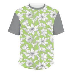 Wild Daisies Men's Crew T-Shirt (Personalized)
