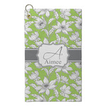 Wild Daisies Microfiber Golf Towel - Small (Personalized)