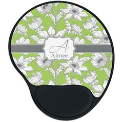 Wild Daisies Mouse Pad with Wrist Support