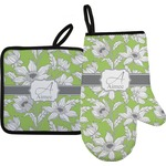 Wild Daisies Oven Mitt & Pot Holder (Personalized)