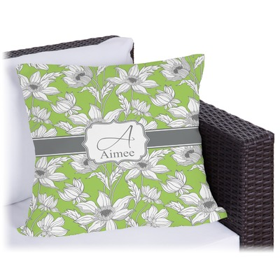 Wild Daisies Outdoor Pillow (Personalized)
