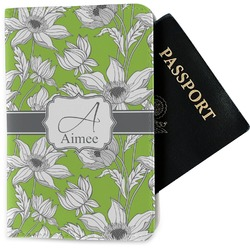 Wild Daisies Passport Holder - Fabric (Personalized)