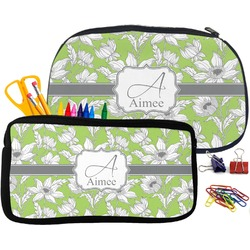 Wild Daisies Pencil / School Supplies Bag (Personalized)