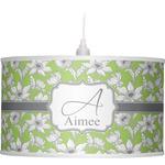 Wild Daisies Drum Pendant Lamp (Personalized)