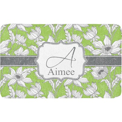 Wild Daisies Bath Mat (Personalized)