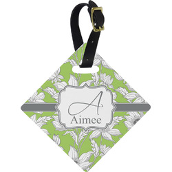 Wild Daisies Diamond Luggage Tag (Personalized)