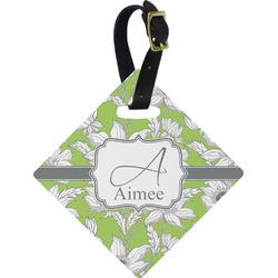 Wild Daisies Diamond Luggage Tag (Personalized)