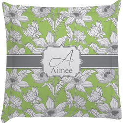 Wild Daisies Euro Sham Pillow Case (Personalized)