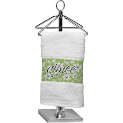 Wild Daisies Finger Tip Towel (Personalized)