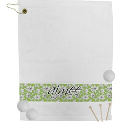 Wild Daisies Golf Towel (Personalized)