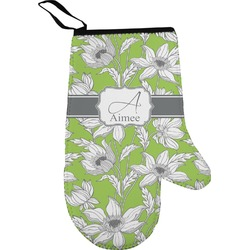 Wild Daisies Right Oven Mitt (Personalized)