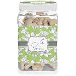 Wild Daisies Pet Treat Jar (Personalized)