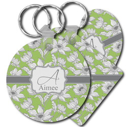 Wild Daisies Plastic Keychains (Personalized)