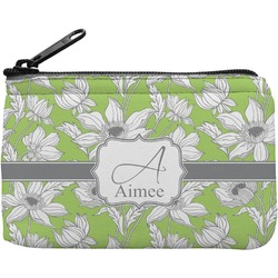 Wild Daisies Rectangular Coin Purse (Personalized)