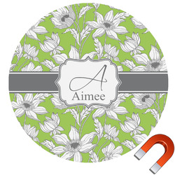 Wild Daisies Car Magnet (Personalized)