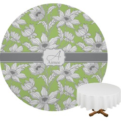 Wild Daisies Round Tablecloth (Personalized)