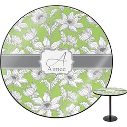 Wild Daisies Round Table (Personalized)