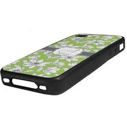 Wild Daisies Rubber iPhone Case 4/4S (Personalized)