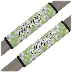 Wild Daisies Seat Belt Covers (Set of 2) (Personalized)