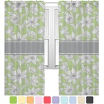 Wild Daisies Sheer Curtains (Personalized)