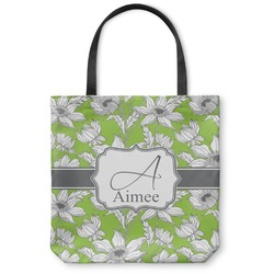 Wild Daisies Canvas Tote Bag (Personalized)