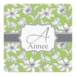 Wild Daisies Square Decal - Custom Size (Personalized)