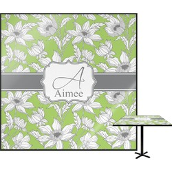 Wild Daisies Square Table Top (Personalized)