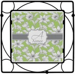 Wild Daisies Square Trivet (Personalized)