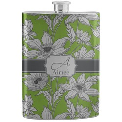 Wild Daisies Stainless Steel Flask (Personalized)